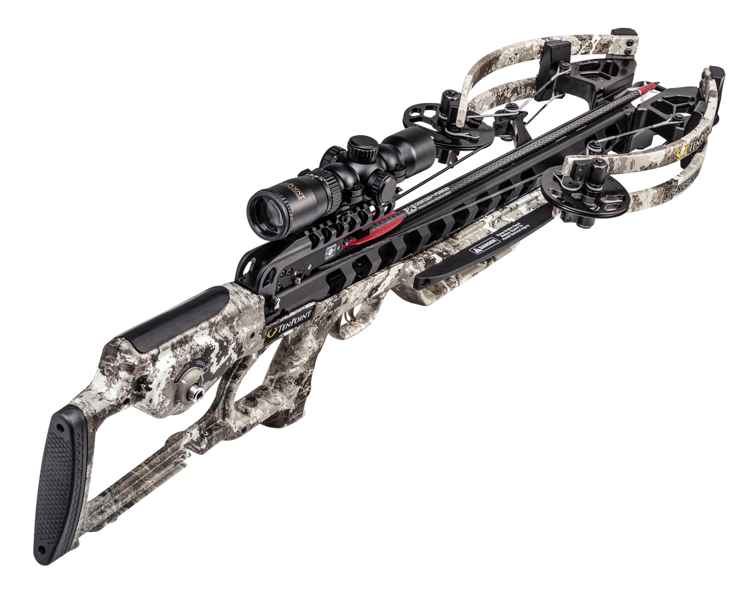 TenPont Vengent S440 Crossbow Package Veil Alpine Camo