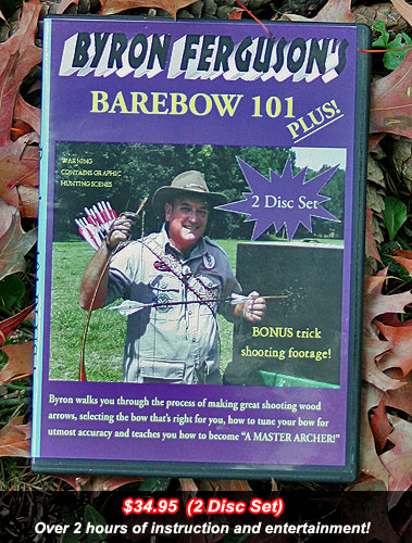Byron Ferguson Barebow 101 2 DVD Set- New Lower Price
