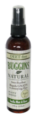 Buggins Deet-Free Bug Spray 4oz.