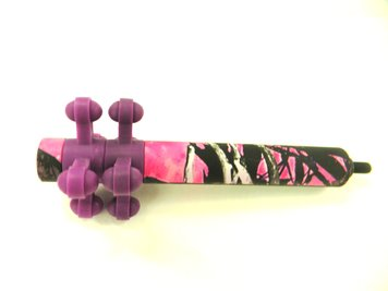 BowJax Muddy Girl Stabilizer - Purple/Pink Camo
