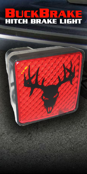 Double Take Archery Buck Brake Hitch brake light