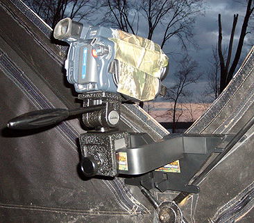 Galema Hub Blind Camera Mount/Bow Holder Combo