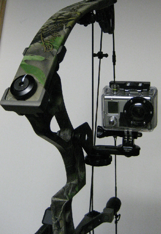 Hi-Tek Camera Bow Mount - Black