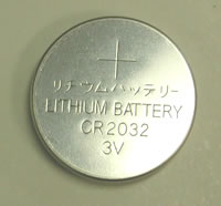 CR2032 Lithium Battery, fits most Red Dot Scopes