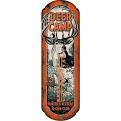 Rivers Edge Deer Camp Tin Thermometer
