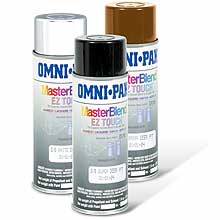 Delta 3-D Target Touch-Up Paint - BLACK