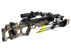 Excalibur Assassin crossbow 360 w/Tact Zone Pkg Strata Camo