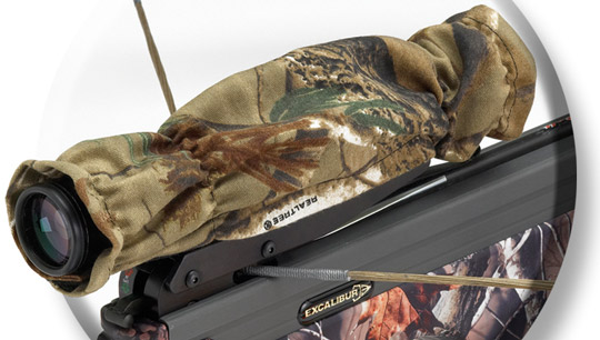 Excalibur Camo Scope Cover