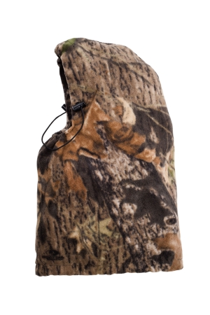 Due North E-Z Lok Camo Hood - Light PolyCotton