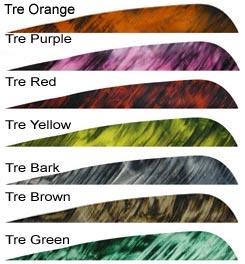 "Gateway 4"" Tre-Bark Camo Feathers 50pk."