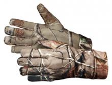 Hunter's Specialties Small Lined Spandex Gloves - AP Camo