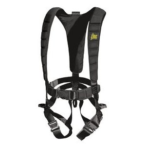 Hunter's Safety System black Ultra Lite Harness w/LCS - L/XL