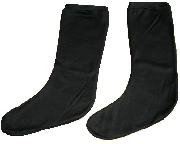 Polypropylene Black Socks
