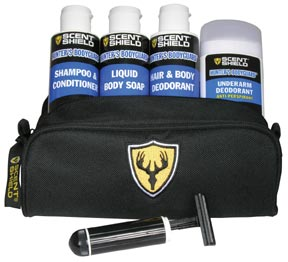 Scent Shield Body Guard Shower Kit