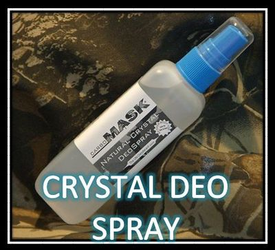 Carbomask Ordorless Crystal Deodorant Spray 4oz
