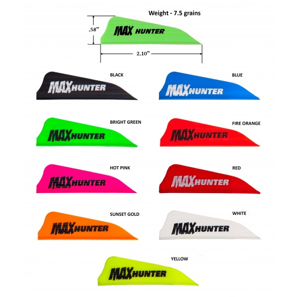 AAE Max Hunter Vanes 100pk.