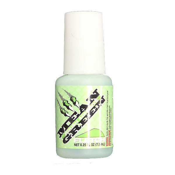 30-06 Mean Green Fletch Glue with Applicator Brush .25oz