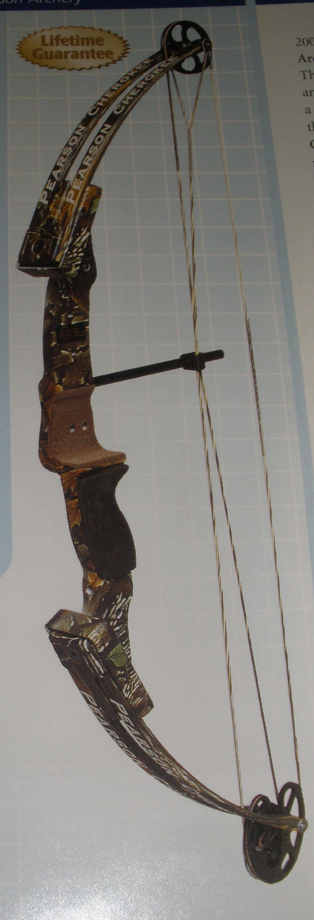 "Pearson Cherokee Bow 22-26"" 45# RH CLOSE OUT"