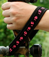 Wrist Wrap Bow Sling Pink Deer Tracks