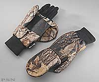 Pop-Top Camo Hunting Glove
