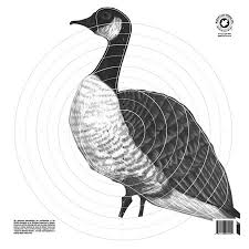 Maple Leaf Goose Paper Targets ea. - Black & White