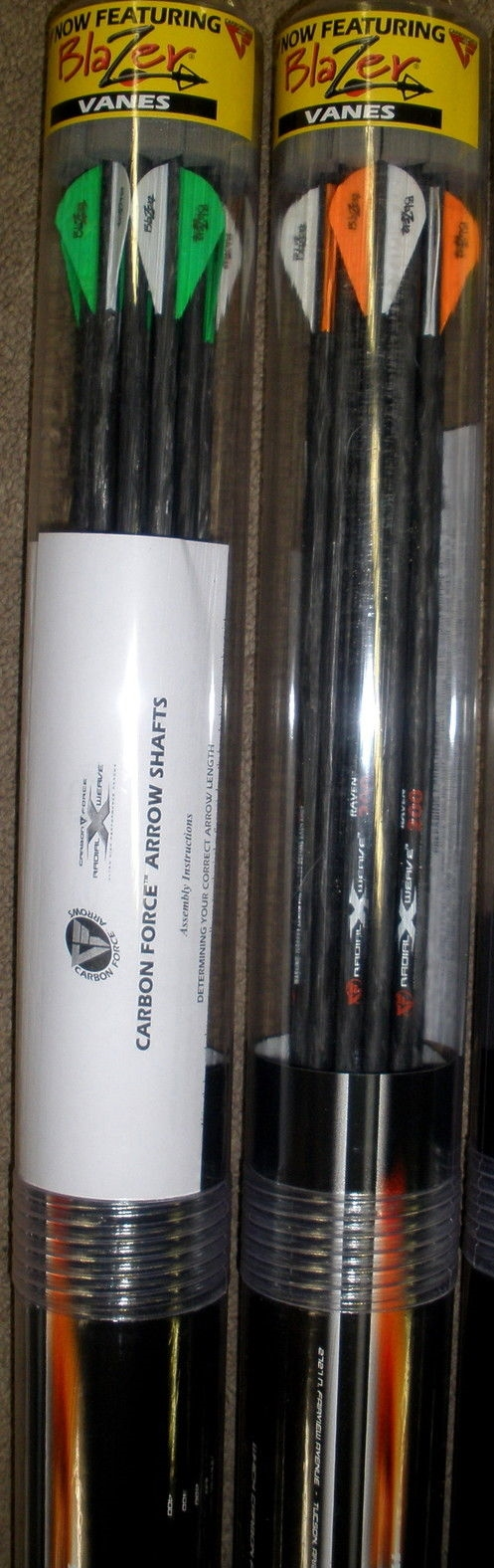 PSE Raven Arrows w/Blazer Vanes SPECIAL PURCHASE