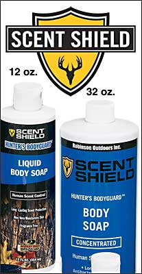 Scent Shield Liquid Body Soap 12oz.