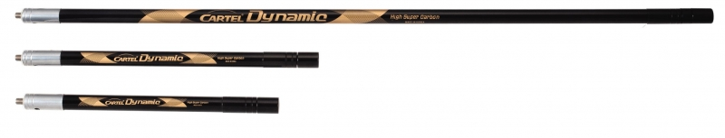 Cartel Dynamic Carbon Side Rod Stabilizer - Black