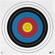 "Maple Leaf 80CM 10 Ring Targets ea. 34""x34"""