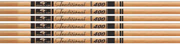 Gold Tip Traditional 600 Shafts w/Nocks & Inserts 1 Dz.