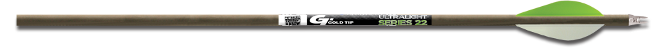 Gold Tip Ultra Lite Series 22 Shafts Dz. .005 1 dz