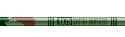 Easton Camo Hunter XX-75 Shafts w/Nocks & Inserts Dz.